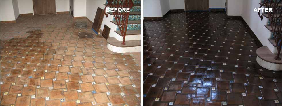Stone Restorationtile Cleaninggrout Mexican Paversmarble