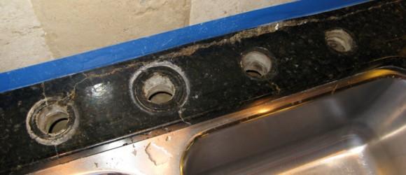 Granite-counter-repair-crack-before