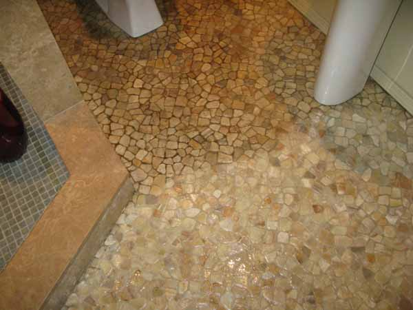 Clean Grout Bathroom Floor Stone Clean Amp Seal Stone