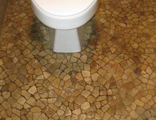 How to clean bathroom floor grout bathroom floors for How to clean bathroom floor